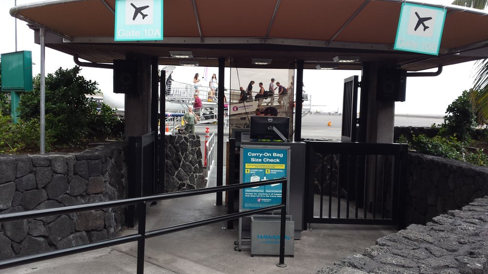 Image result for kona airport gate